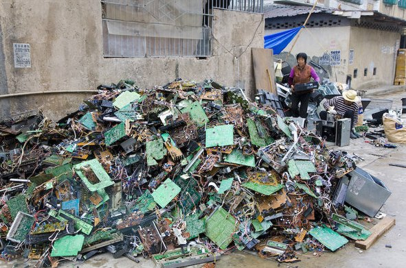 Electronic Waste Dump Of The World Everything And Anything