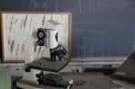 Emerson-School-microscope