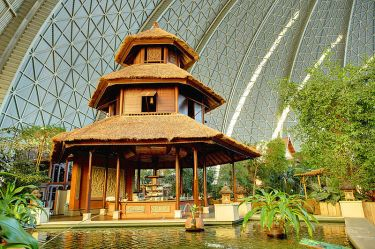 Bali Pavilion, Tropical Islands, Germany