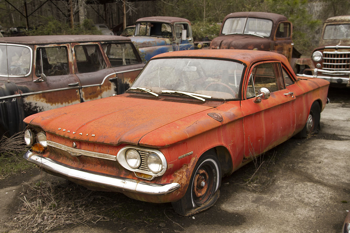 1963 Corvair | Abandoned vehicles | Pinterest | Abandoned vehicles ...