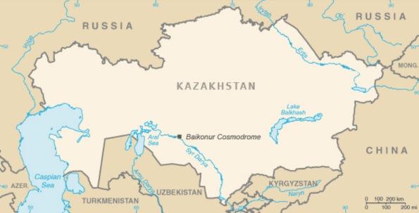 baikonur-kazakhstan-map